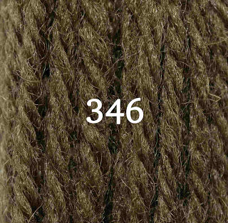 Appletons Tapestry Wool 346 Mud Olive Green