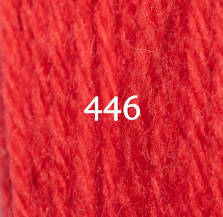 Appletons Crewel Wool 446 Orange Red