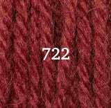 Appletons Crewel Wool 722 Paprika