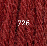 Appletons Crewel Wool 726 Paprika