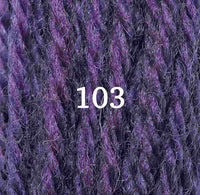 Appletons Tapestry Wool 103 Purple