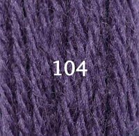 Appletons Crewel Wool 104 Purple