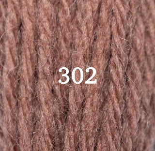 Appletons Tapestry Wool 302 Red Fawn
