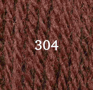 Appletons Tapestry Wool 304 Red Fawn