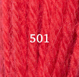 Appletons Crewel Wool 501 Scarlet