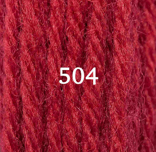 Appletons Crewel Wool 504 Scarlet