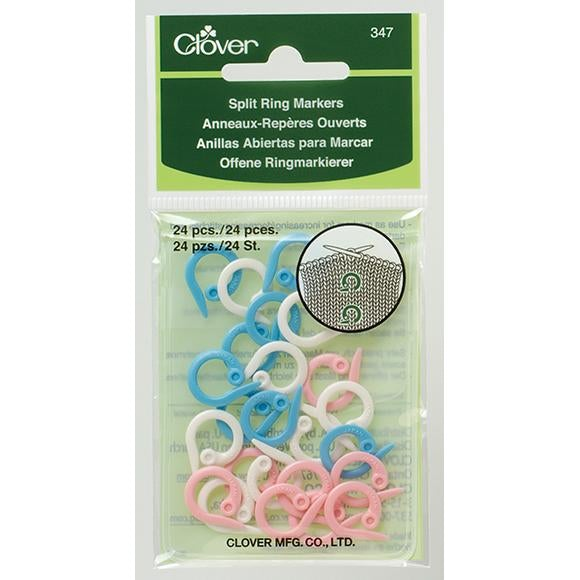 Clover Split Ring Markers