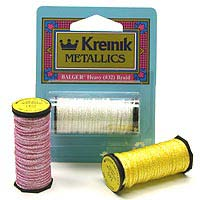 Kreinik #32 Heavy Braid 001 Silver