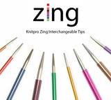 Knit Pro Zing Interchangeable Needle Tips