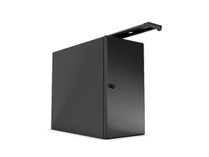 Vertical Under Desk Storage - Black Box