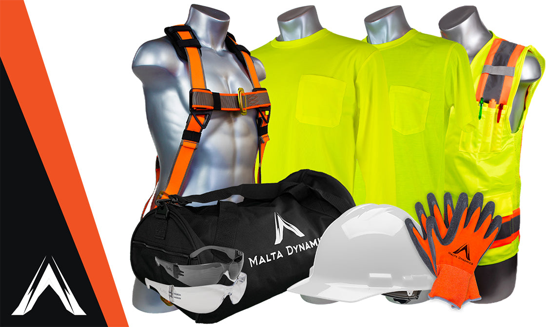 Announcing New Hire Fall Protection and Safety Kits