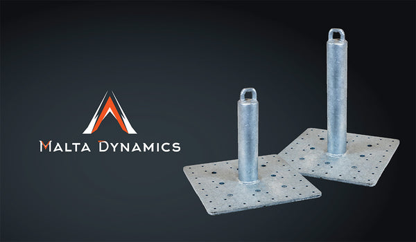 Malta Dynamics Roof Anchors Rated for Window Washing