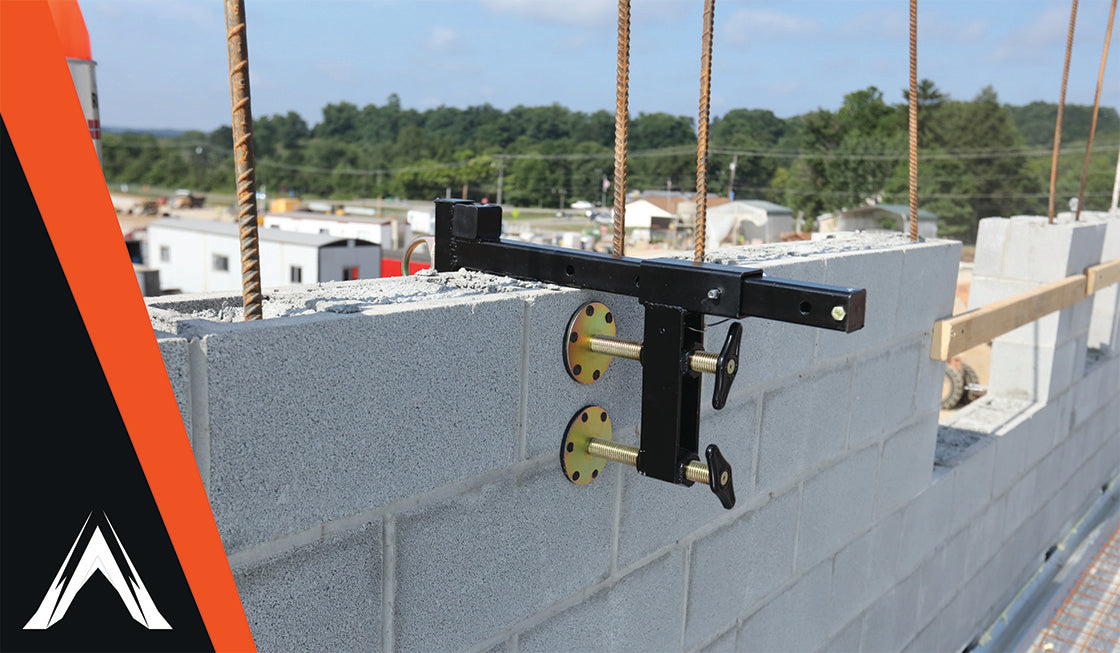 Tie Off Overhead without Damaging Roof Walls with Parapet Anchors