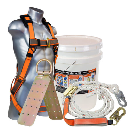 25' Roofer's Bucket Kit