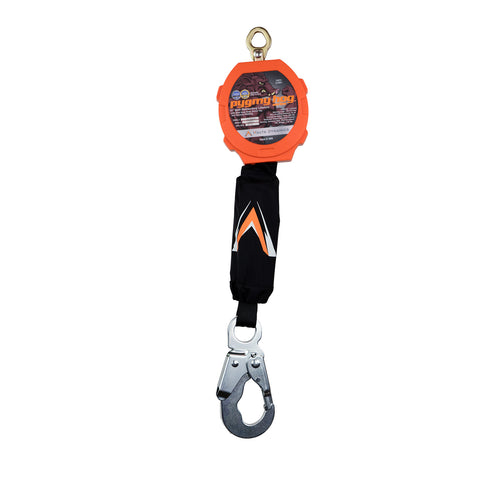 Pygmy Hog 11' Web Self-Retracting Lifeline with Steel Snap Hook