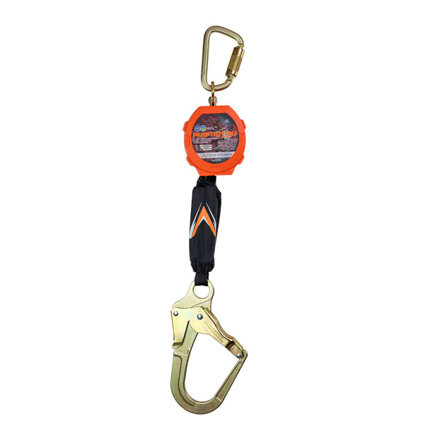 Pygmy Hog 11' Web Self-Retracting Lifeline with Rebar Hook