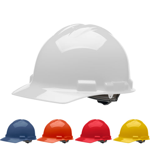 Pre-Assembled Hard Hat - 4 Pt. Ratchet Cap Style