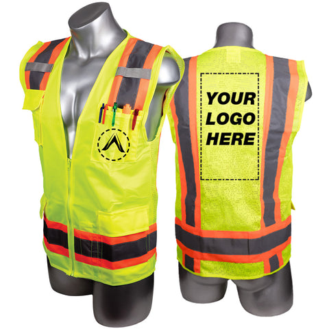 Custom High Visibility Surveyor Vest