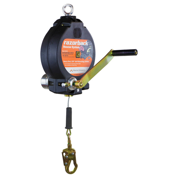 100' 3-Way Recovery Self-Retracting Lifeline