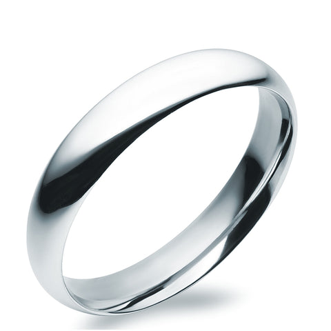 Classic Wide Bangle in Sterling Silver
