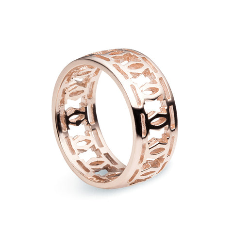 Trellis Ring - Rose Gold - Zaffre Jewellery - 1