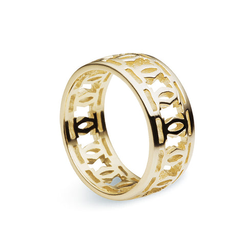 Trellis Ring - Gold - Zaffre Jewellery - 1