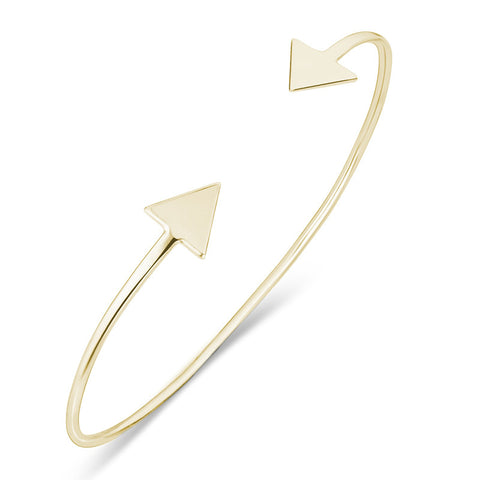 Arrow Head Cuff - Gold - Zaffre Jewellery - 1