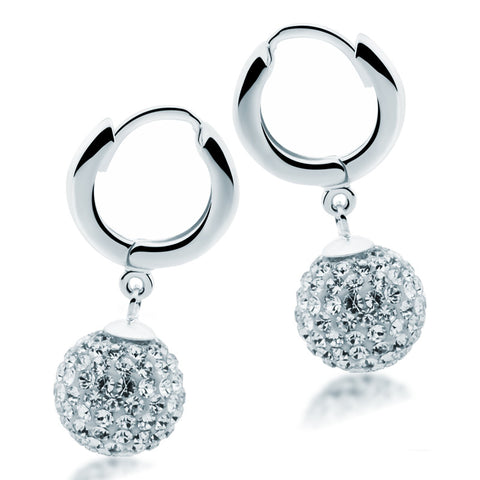 Swarovski Crystal Earrings - Zaffre Jewellery - 1