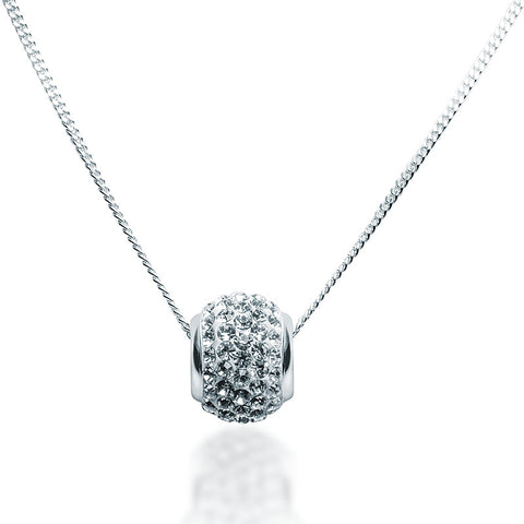 Swarovski Crystal Bead Necklace - Zaffre Jewellery - 1