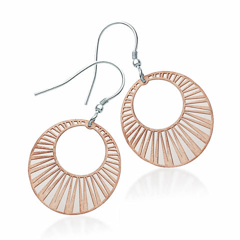 Layered Geometric Earrings - Zaffre Jewellery - 1
