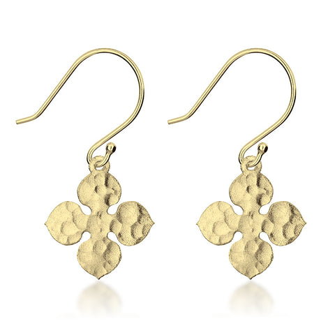 Santorini Earrings - Gold - Zaffre Jewellery - 1