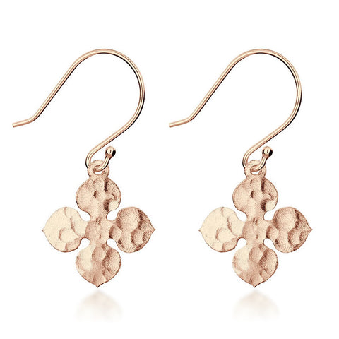 Santorini Earrings - Rose Gold - Zaffre Jewellery - 1