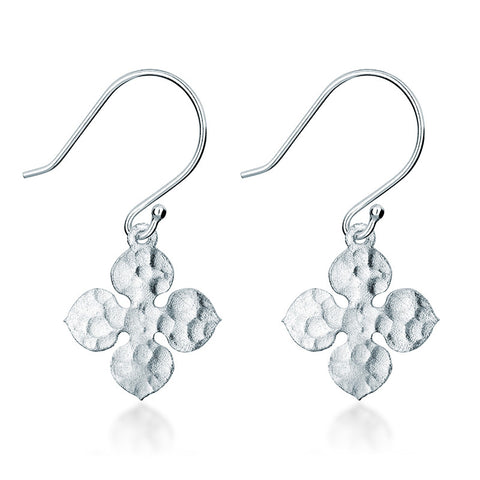 Santorini Earrings - Silver - Zaffre Jewellery - 1