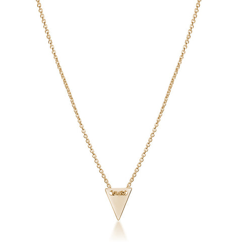 Arrow Head Necklace - Gold - Zaffre Jewellery - 1