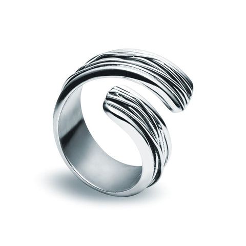 Spiral Ring - Zaffre Jewellery - 1