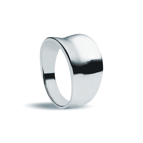 Convex Ring - Zaffre Jewellery - 1
