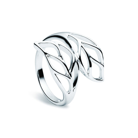 Summer Leaf Ring - Zaffre Jewellery - 1