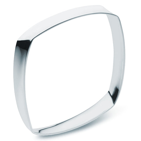 Square Bangle - Wide - Zaffre Jewellery - 1