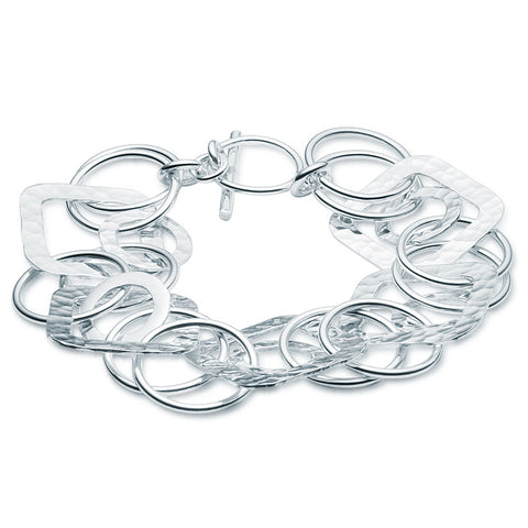 Aqueuse Shapes Bracelet - Zaffre Jewellery