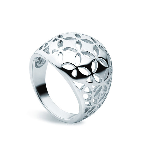 Graphic Ring - Zaffre Jewellery - 1