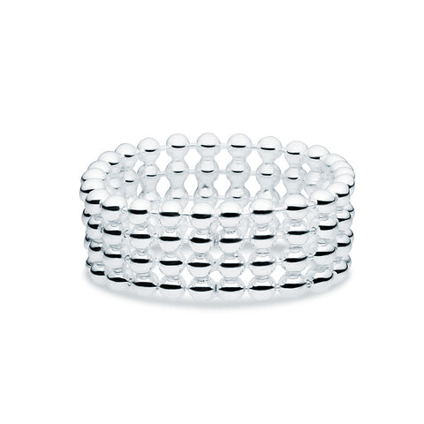 Silver Flex Ring - Zaffre Jewellery - 1