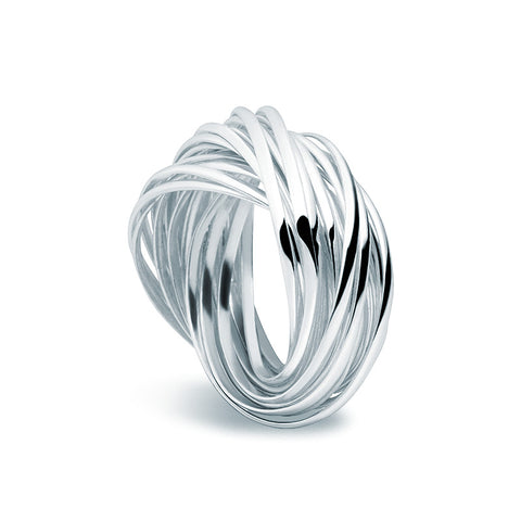 Entwined Ring - Zaffre Jewellery - 1