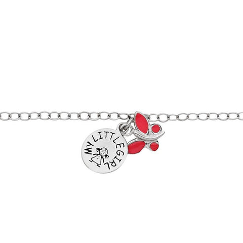 My Little Girl Bracelet - Butterfly - Zaffre Jewellery - 1