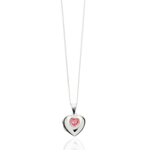 Heart Locket Necklace - Zaffre Jewellery - 1