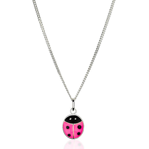 Ladybird Pendant Necklace - Zaffre Jewellery - 1