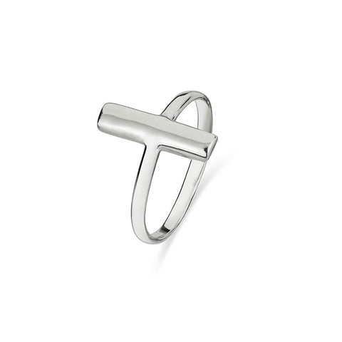 Vertical Bar Ring Sterling Silver