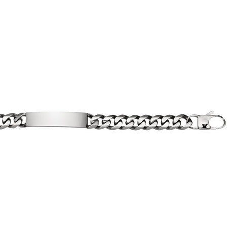 Stainless Steel Men's ID Bracelet