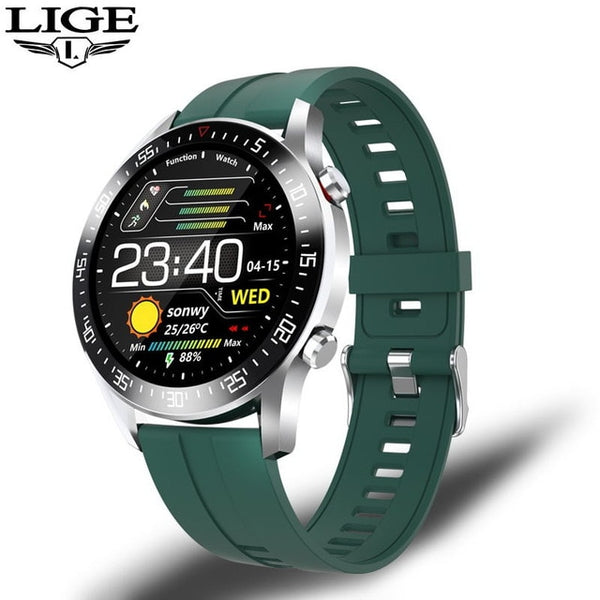 LIGE Luxury Fitness Sports Watch