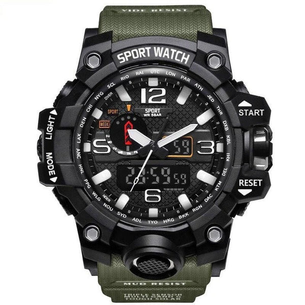 WATERPROOF MILITARY MEN'S WATCH