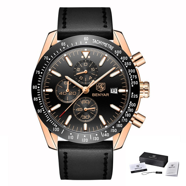 Quartz Chronograph Watch